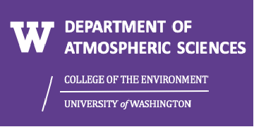 University of Washington Atmospheric Sciences logo