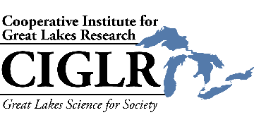 University of Michigan, Cooperative Institute for Great Lakes Research (CIGLR) logo