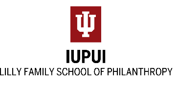 Indiana University Lilly Family School of Philanthropy logo