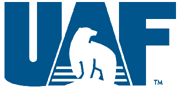 The University of Alaska Fairbanks logo