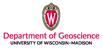 University of Wisconsin-Madison Department of Geoscience logo