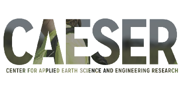 Center for Applied Earth Science and Engineering Research | CAESER logo