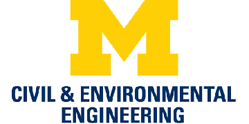 University of Michigan, Civil & Environmental Engineering logo