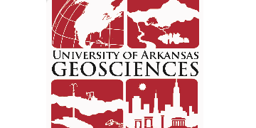 Department of Geosciences, University of Arkansas logo