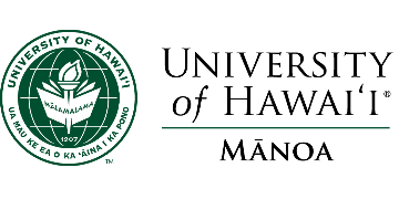Department of Earth Sciences, University of Hawaii - Manoa logo