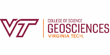 Virginia Tech, Department of Geosciences logo