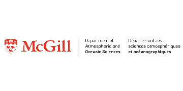 Atmospheric & oceanic Sciences- McGill University logo