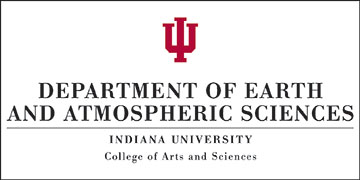 Indiana University Department of Earth and Atmospheric Sciences logo