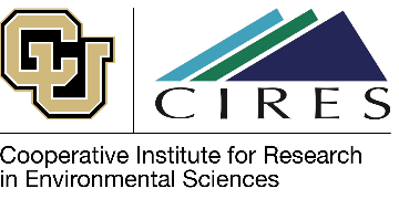University of Colorado/Cooperative Institute for Research in Environmental Sciences logo
