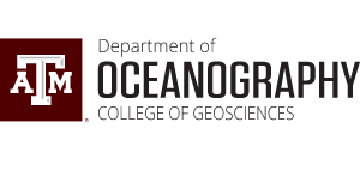 Texas A&M University Oceanography Department logo