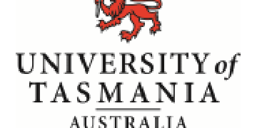 Solid Earth Geophysics & Geodesy, University of Tasmania logo