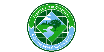 University of Oklahoma-The Department of Geography and Environmental Sustainability  logo