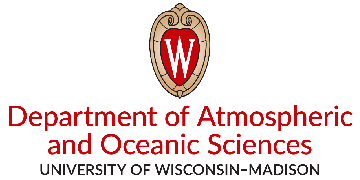 University of Wisconsin-Madison, Department of Atmospheric & Oceanic Sciences logo