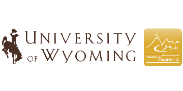 University of Wyoming, Department of Geology and Geophysics logo