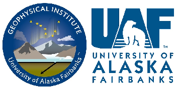 University of Alaska Fairbanks - Geophysical Institute logo