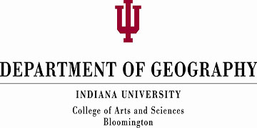 Indiana University, Department of Geography logo