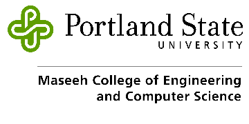 Civil & Environmental Engineering Department, Portland State University logo