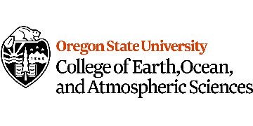 College of Earth, Ocean, and Atmospheric Sciences at Oregon State University logo