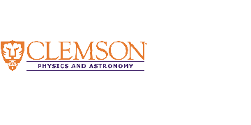 Department of Physics and Astronomy, Clemson University logo