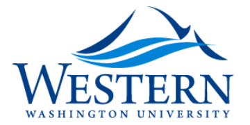 Western Washington University- Geology Department logo